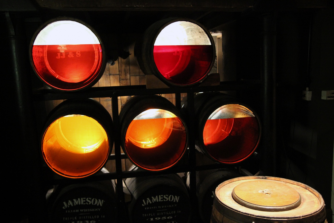 Free image: What is inside old Jameson whisky?