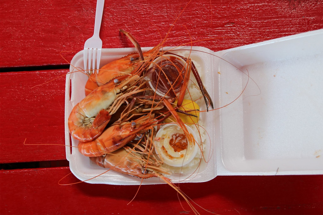 Free image: Tasty shrimp