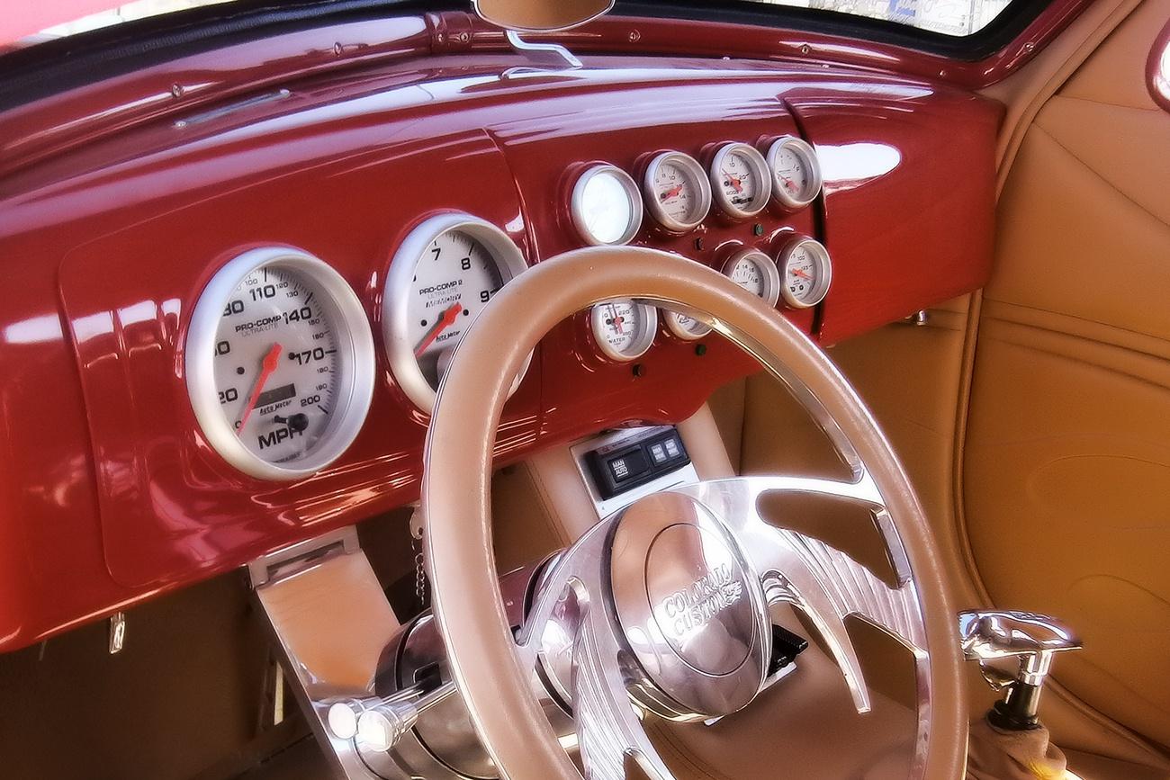 Free Image: Classic Car Interior